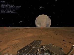 Phobos From Mars Surface (page 2) - Pics about space