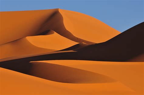 Bild: Wüste, Sahara, Südalgerien, Sand von bluroc bei KunstNet
