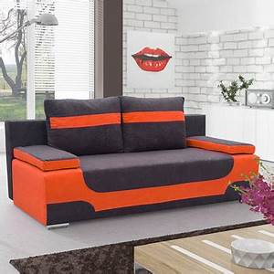 meuble de salon canap canape lit convertible sofamobili With tapis shaggy avec canapé convertible 2 places auchan