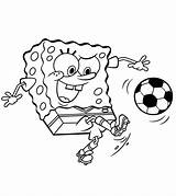 Soccer Coloring Pages Sports Spongebob Squarepants Football Playing Momjunction Ball Printable Printables Sheets Soccerball Balls Sheet Player Cartoon Ones Play sketch template