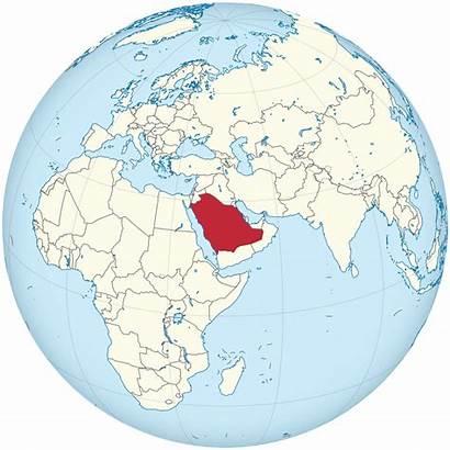 Saudi Arabia Globe Centered Svg Wikipedia Qatar