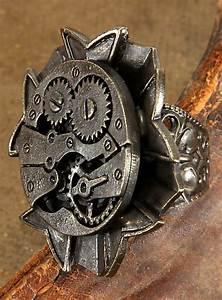 Steam Rechnung : steampunk ring uhrwerk antik ~ Themetempest.com Abrechnung