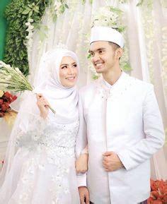 gambar model kebaya pengantin muslim modern simpel