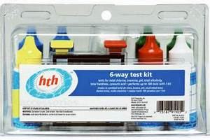 Hth Test Chart Hth 6 Way Test Strips