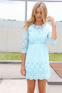 Boho Kleid Hochzeitsgast : light blue lace dress clothes pinterest pastel sleeve and spring ~ Yasmunasinghe.com Haus und Dekorationen