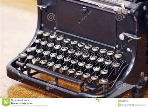 antieke typemachine royalty vrije stock foto afbeelding 2222475