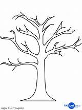 Coloring Tree Fig Dead Pages Printable Getcolorings sketch template