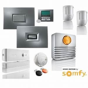 Www Somfy De : pr sentation de la gamme d 39 alarme somfy protexiom protexial domotique info ~ Frokenaadalensverden.com Haus und Dekorationen