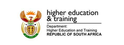 department  higher education  training dhet