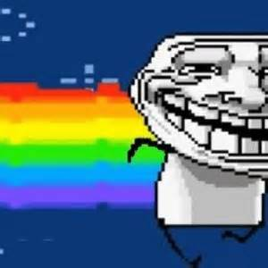 troll face nyan cat  deepak meme center