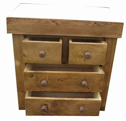 Butchers Blocks Larger Waxed Drawers Block Four