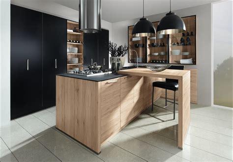 cuisine ardoise et bois le bois s 39 installe dans vos cuisines plans pluriel