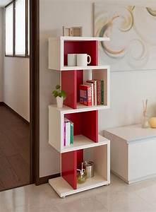 Ikea Bibliothèque Blanche : colonne de rangement elle se dresse pour une conomie d 39 espace ~ Teatrodelosmanantiales.com Idées de Décoration