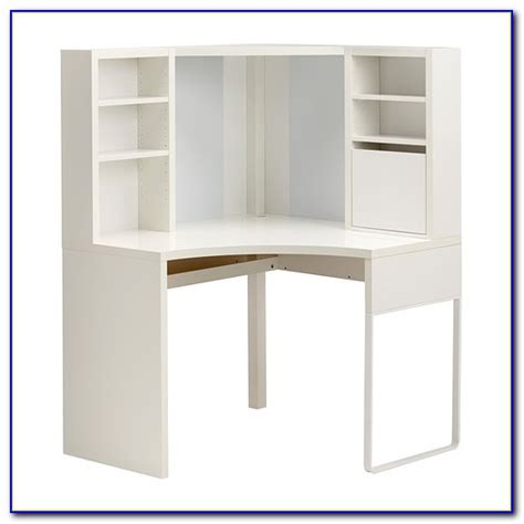 white corner desk with hutch ikea desk home design