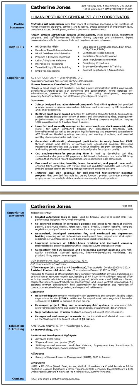 exles of resumes resume professional summary customer
