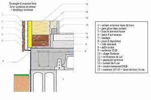Epaisseur Mur Ossature Bois : isolation ext rieure des murs de nos habitations en bois ~ Melissatoandfro.com Idées de Décoration