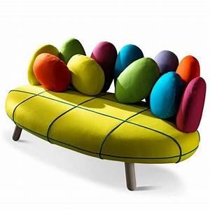 canape design colore salon en 2019 pinterest canape With fauteuil original coloré
