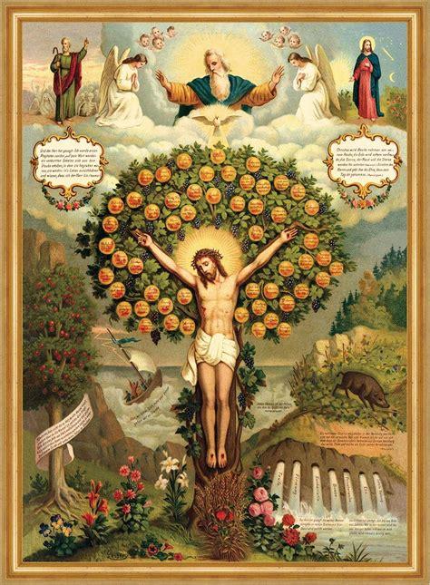baum des lebens der baum des himmlischen lebens firmung taufe busse ehe st