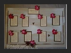 Plan De Table Mariage Gratuit : plan de table mariage personnalise orchidees plan de table mariage pinterest ~ Melissatoandfro.com Idées de Décoration