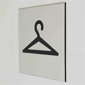 Plaques De Portes : plaque de porte vestiaire pictogramme 4mepro ~ Melissatoandfro.com Idées de Décoration