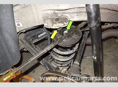 BMW Z3 Rear Coil Spring Replacement E36 19962002