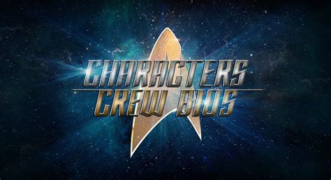 star trek discovery bios   character  crew