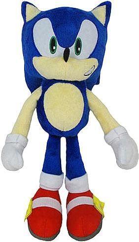 Sonic The Hedgehog 20th Anniversary Sonic 12 Plush Classic ...