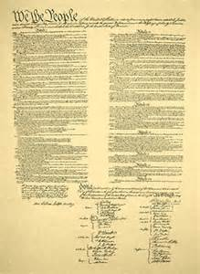Printable United States Constitution Original