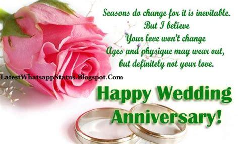wishes   anniversary whatsapp status quotes