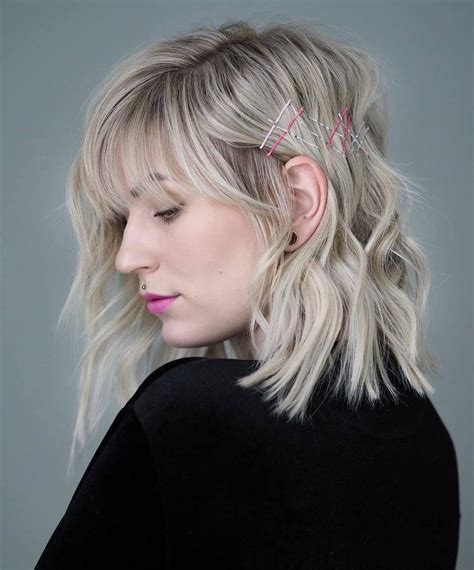 Amazing Medium Hairstyles With Side Bangs The
