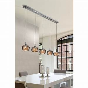 Luminaire Suspension Design En Ligne 5 Lampes
