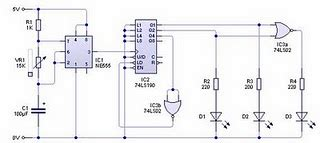 Swith For Diagram Traffic Lights Circuit