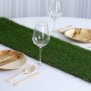 Decorative Wedding Party Artificial Grass Table Runner