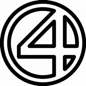 Fantastic Four - Free logo icons
