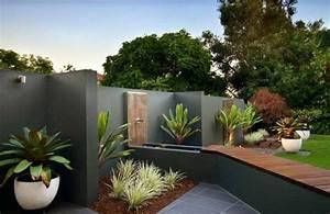 Idee Amenagement Jardin : idee deco jardin design amenagement petit jardin brasseriedb ~ Melissatoandfro.com Idées de Décoration