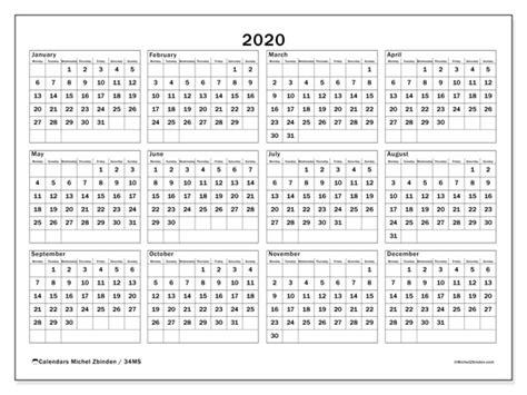 calendar ms michel zbinden en