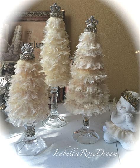 shabby chic christmas trees christmas tree shabby chic tree christmas decor christmas
