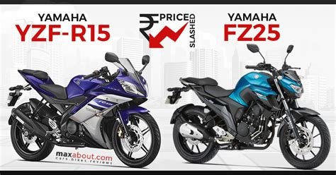 Cb 150r And Yamaha R15 by Gst Effect Price Of Yamaha R15 Yamaha Fz25 Slashed