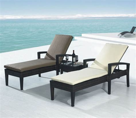chaise longue extérieur outdoor chaise lounges outdoortheme com