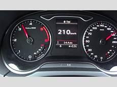 2013 Audi A3 20 TDI Top Speed YouTube