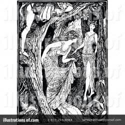 Forest Clipart #1180333 - Illustration by Prawny Vintage