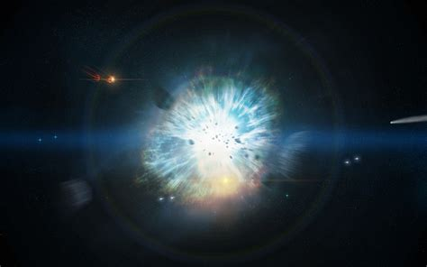 Supernova Stars Explosion sci-fi space stars wallpaper