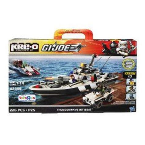Awesome Toy Jet Boat by Kre O Gi Joe Thunderwave Jet Boat A2355 By Hasbro 41 69