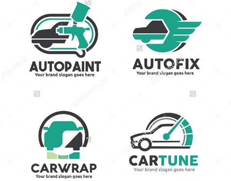 Car Service Company by Auto Mechanic Shop Logo