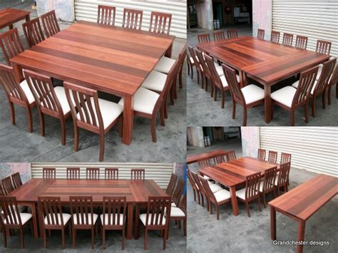 Artistic Large Square Dining Room Table For 12 My Next