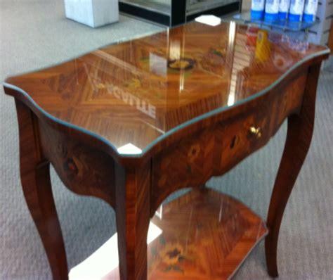 custom glass desk protector black 180cm x 90cm heat resistant table protector by