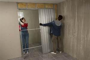comment poser une porte a galandage reponses d39experts With porte de garage coulissante de plus porte À galandage