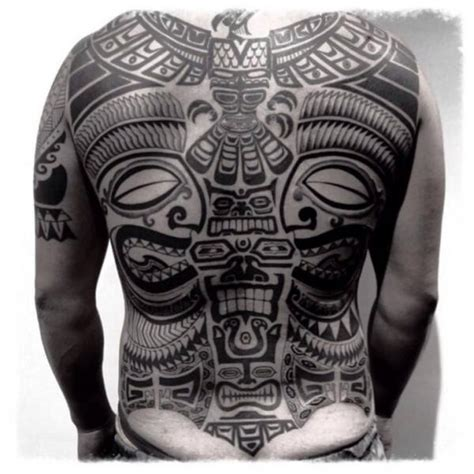 ruecken tribal maori tattoo von chopstick tattoo
