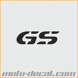 Reflective bmw gs letters moto decalcom for Reflective letter decals