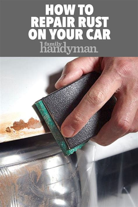 rust repair paint hood familyhandyman chip shops edge touch